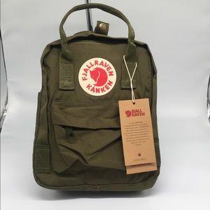 Fjallraven Kanken Backpack Green Army - mini